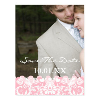 Save The Date Your Engagement Photo Postcard