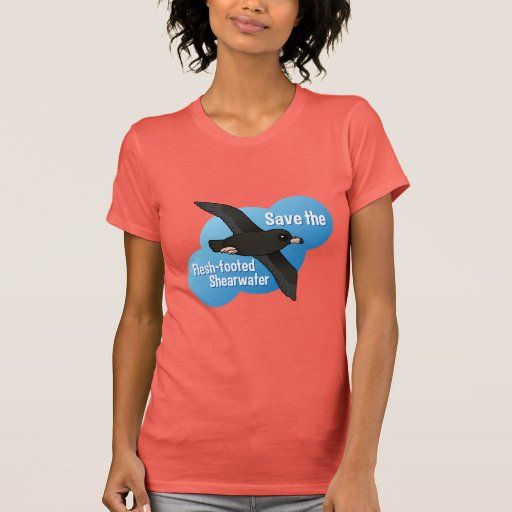 Save the Flesh-footed Shearwater Shirt
