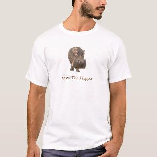 Save The Hippo Tee Shirt