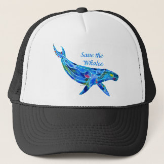 Save the Humpback Whale Trucker Hat