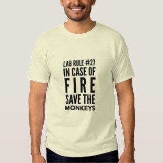 Save the Lab Monkeys T-shirt