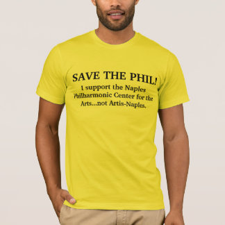 Save the PHIL! men's tee shirt