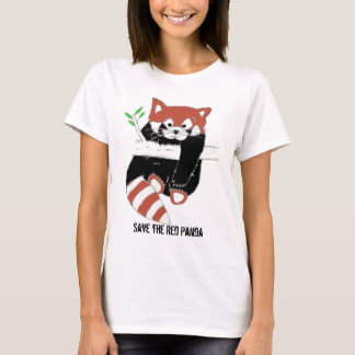 Save the Red Panda aka FireFox T-Shirt