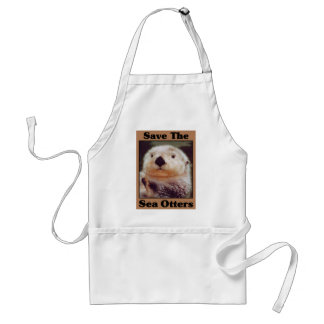 Save the Sea Otters Standard Apron