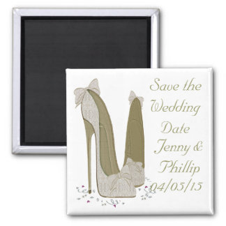 Save the Wedding Date Personalised Magnet
