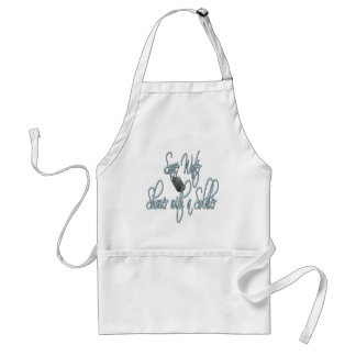Save Water Shower With A Soldier Standard Apron