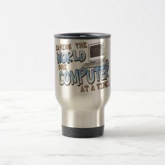 Saving theWorld Travel Mug