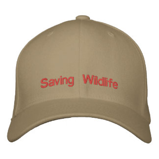 Saving Wildlife Baseball Cap