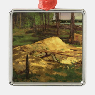Sawdust Pit, 1876 Christmas Ornament