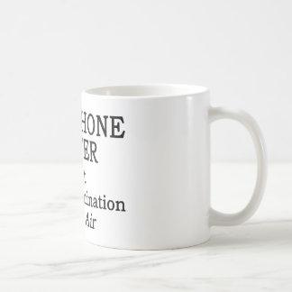 Saxophone Player Hot Air Basic White Mug