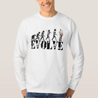 Saxophone Sax Evolution Musical Art T-Shirt