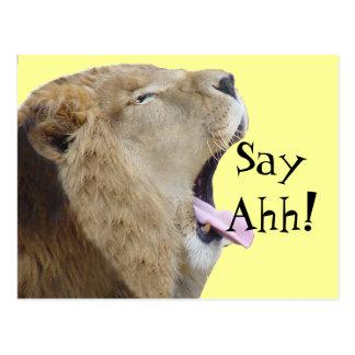 Say Ahh! Postcards