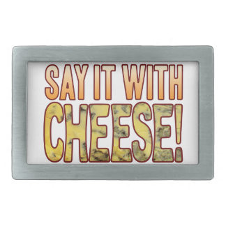 Say It Blue Cheese Belt Buckles