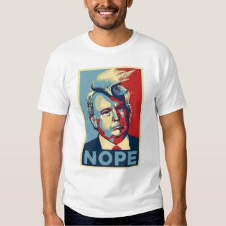 Say no to Donald Trump messy hair political tshirt