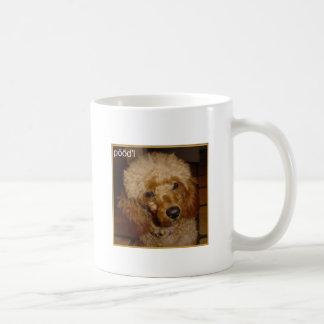 Say Poodle Mug