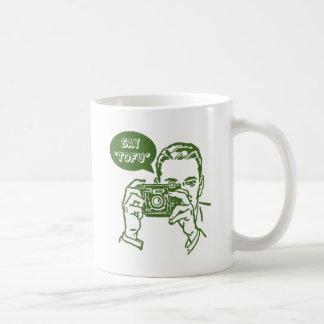 Say Tofu Basic White Mug