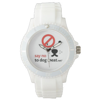 SAYNOTODOGMEAT.NET WOMENS SPORTY WATCH