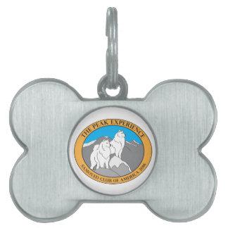 SCA 2016 Logo Dog Tags Pet Tag