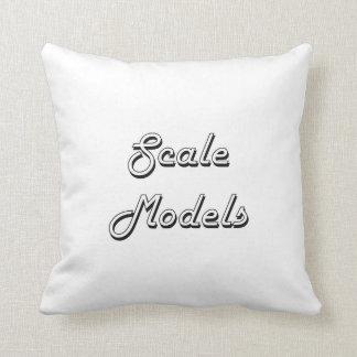 Scale Models Classic Retro Design Cushion