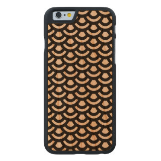 Scale Pattern Wooden iPhone 6 Case