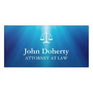 Scales of Justice | Personalizable Law Symbol Door Sign