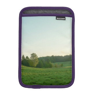 Scandinavian landscape iPad mini sleeve
