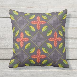 Scandinavian patchwork garden outdoor cushion
