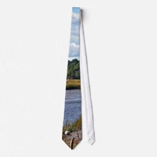Scarborough Marsh (saltwater), Maine Tie