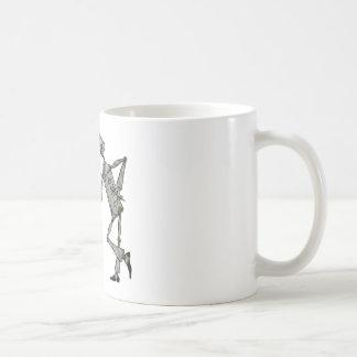 Scarecrow and Tin Man Basic White Mug