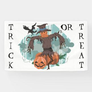 Scarecrow, Pumpkins and a Crow Halloween