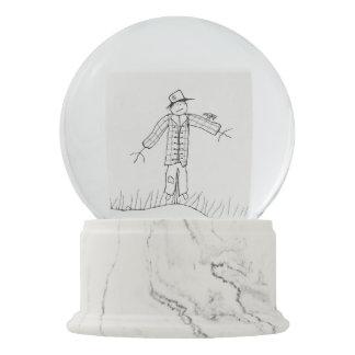 Scarecrow Snow Globe. Snow Globes