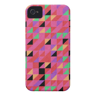 Scarlet and Crimson Triangles Case-Mate iPhone 4 Cases