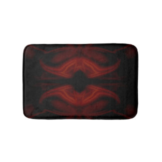 Scarlet Bat Bath Mat