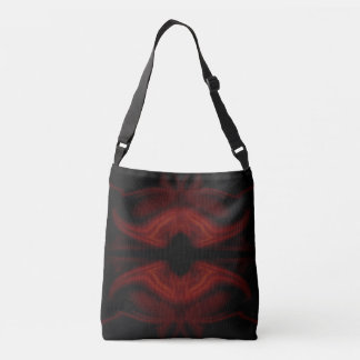 Scarlet Bat Crossbody Bag