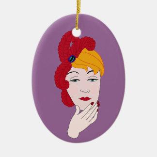 Scarlet Ibis Christmas Ornament