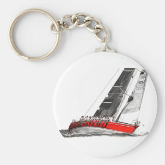 Scarlet Oyster.jpeg Key Ring