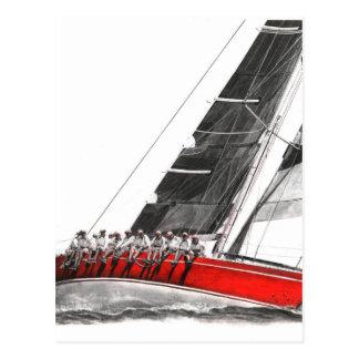 Scarlet Oyster.jpeg Postcard