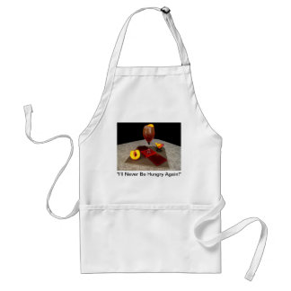 "Scarlett O'Hara - ""I'll Never Be Hungry Again!"" Standard Apron"