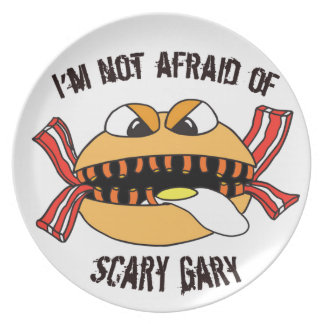 Scary Gary Party Plates