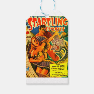Scary Two-headed Space Eel Gift Tags