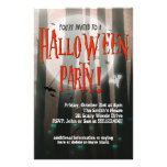 Scary Woods Halloween Party Invitation 14 Cm X 21.5 Cm Flyer