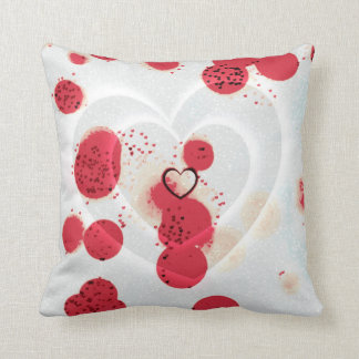 Scattered Hearts Pillow