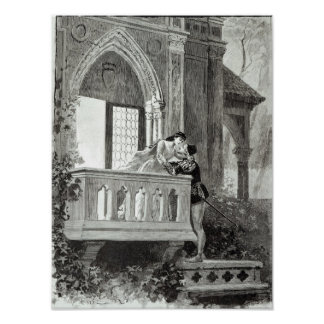 Scene from Act II of Romeo and Juliet Print