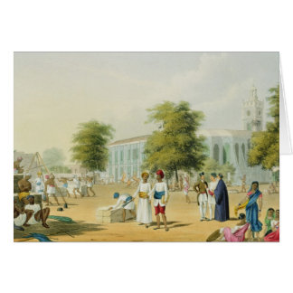 Scene in Bombay, from Volume I of 'Scenery, Costum Card