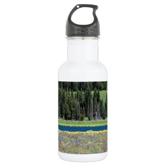 Scene Pelican Creek Yellowstone Wyoming 532 Ml Water Bottle