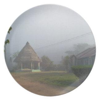 Scenes from Costa Rica Plate