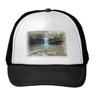 Scenic Appalachian Waterfall Cap