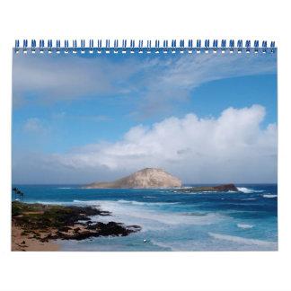 Scenic Oahu 2014 Calendar