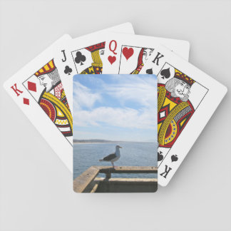 Scenic Seagull Standard Playing Cards