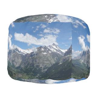 Scenic Switzerland Pouf